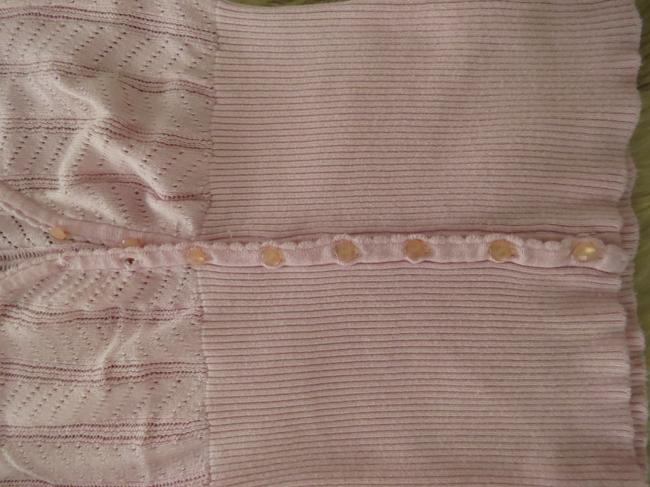 Forever 21 Cardi Cap Sleeves Button Down Shirt Baby pink Image 1