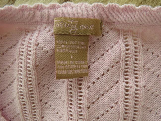 Forever 21 Cardi Cap Sleeves Button Down Shirt Baby pink Image 2