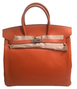 Hermès Birkin Hac 36 Epsom Tote in Orange