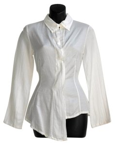 La Fée Maraboutée Fee Button Down Shirt white