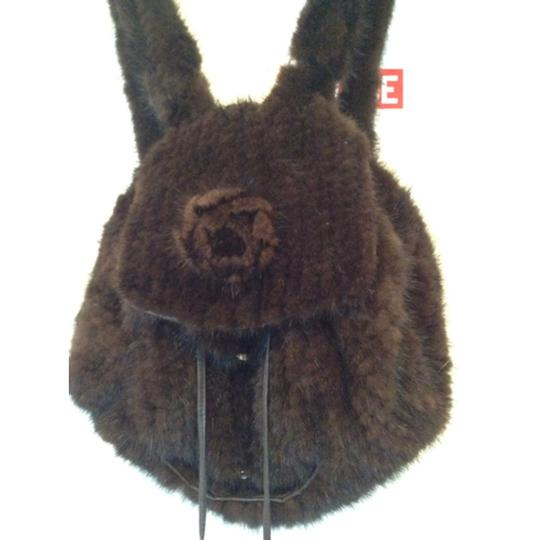 Sax Fifth Ave Mink Backpack Image 1