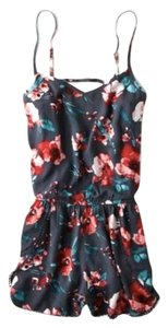 American Eagle Outfitters Romper Jumper Flowered Dress