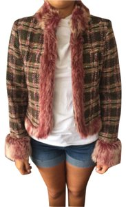 True Meaning Pink and brown Jacket