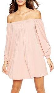 ASOS short dress Pink Simple Comfortable on Tradesy