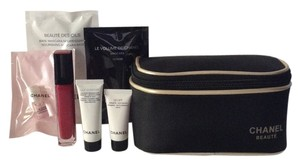 Chanel Chanel Beaute Travel Set with Makeup Bag. NEW