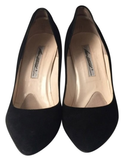 Brian Atwood Suede BLACK Pumps
