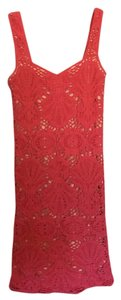 Free People Bodycon Lace Slip Medallion Dress