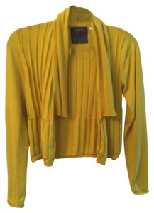 Anthropologie Waterfall Open Cropped Sweater Cable Knit Cardigan