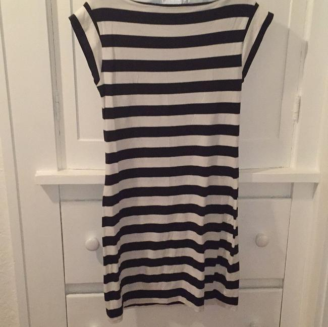 French Connection short dress Navy, white on Tradesy