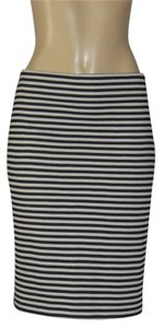 Talbots Skirt black/white