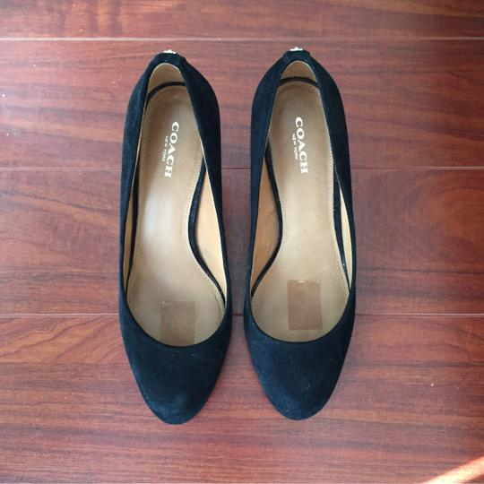 Coach Black Pumps