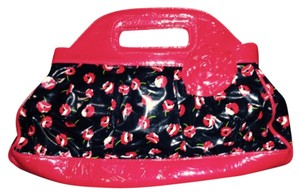 Vera Bradley Red & Black Clutch
