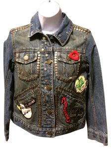 Marc Jacobs blue Womens Jean Jacket