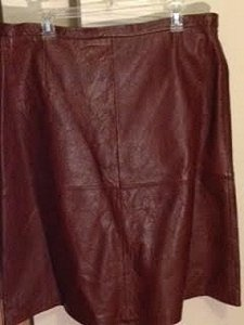 Terry Lewis Classic Luxuries Skirt brown