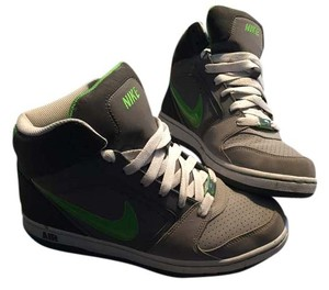 Nike Gray and Green Athletic