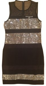 Diane von Furstenberg Short Rhinestones Dress