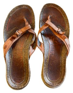 Teva Cheap Brown Leather Sandals