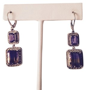 Other Ametrine & Diamond Earrings
