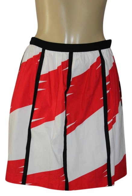 Vince Camuto Mini Skirt red/white Image 0