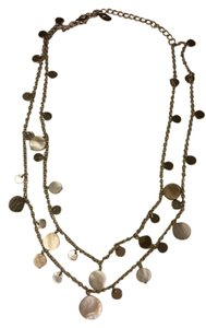 Cookie Lee Dual layer Cookie Lee silver necklace