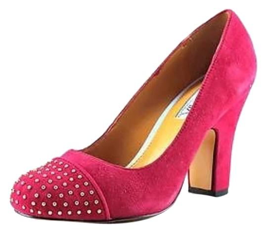 Cynthia Rowley Red Suede Pumps