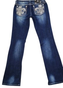 Miss Me Je6099e3x Easy Boot Cut Jeans-Distressed