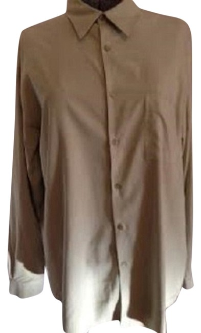 Alfani Button Down Shirt pale green