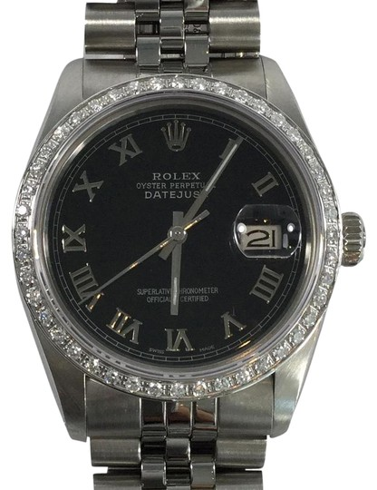 Preload https://item5.tradesy.com/images/rolex-datejust-stainless-steel-with-white-gold-diamond-bezel-watch-5889934-0-3.jpg?width=440&height=440