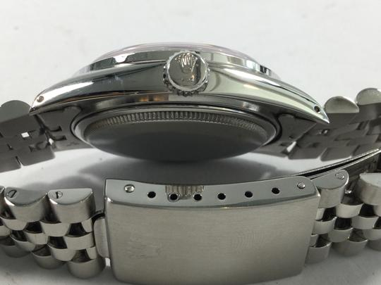 Rolex Rolex Datejust Stainless Steel with White Gold Diamond Bezel