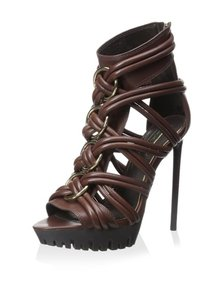 Rachel Zoe Cotto Leather Stiletto Sandals