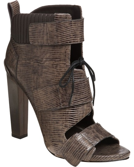 Alexander Wang Chunky Embossed Leather Boots