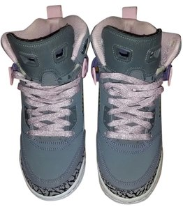 Nike Air Jordan Sneaker Basketball Hi Top High Top Gray Athletic