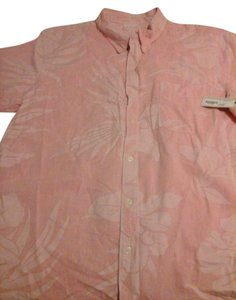 Arizona Jean Company Button Down Shirt Salmon