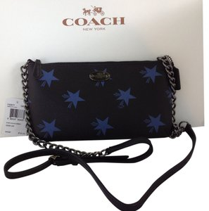 Coach Star Canyon Phone Case Leather Corner Zip 64329 Cross Body Bag