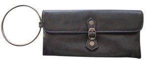 Victoria's Secret Victoria's Secret Wallet Black Leather Clutch Wristlet
