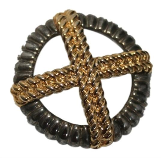 Preload https://item1.tradesy.com/images/other-beautiful-grey-and-gold-brooch-5891410-0-0.jpg?width=440&height=440
