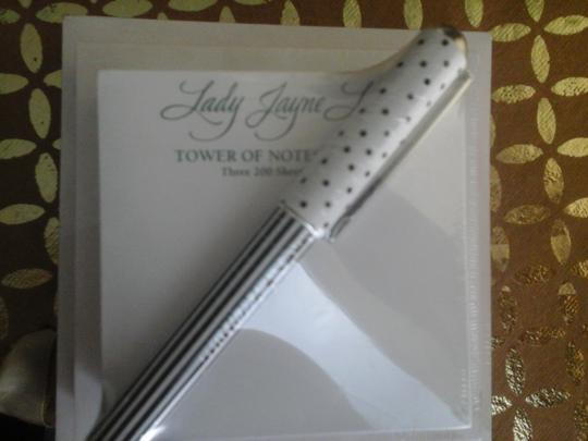 Lady Notepad Tower for Desk with Matching Pen NWT