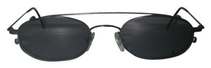 Calvin Klein Calvin Klein 1450 Sunglasses Clip-On Lenses Gunmetal Ultralight Wire Frame Japan