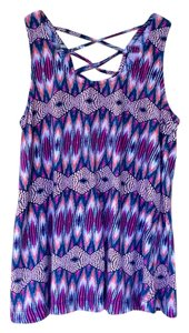 Xhilaration Trapeze Trapeze Top Multi