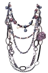 Designer Chandelier Statement Necklace 19-38