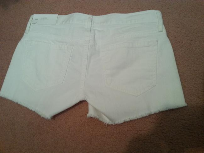 Ann Taylor LOFT Mini/Short Shorts White