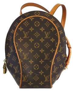 Louis Vuitton Ellipse Brown Monogram Leather Backpack