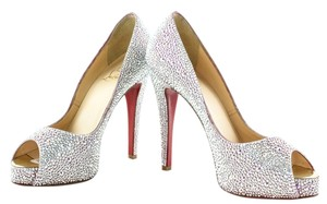 Christian Louboutin Very Riche Strass Crystal Pumps