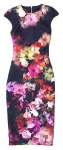 Ted Baker short dress Multi Color Floral Print on Tradesy