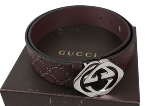 Gucci Gucci GG Embossed Belt - Size 90/36