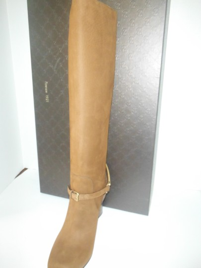 Gucci Nut Brown Boots