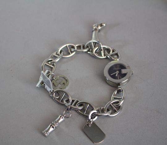 Gucci * Gucci 107 Series Charm Bracelet Watch