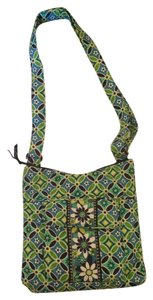 Vera Bradley Tote in Green, Blue, White,