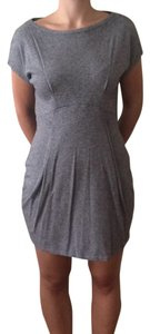 A|X Armani Exchange Cotton Pockets Going Empire Waist Dress