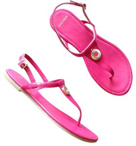 Cole Haan Electra patent pink Sandals